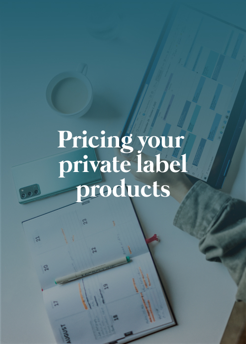pricing private label product banner img
