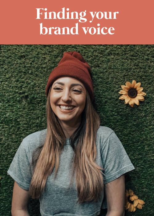 blanka blog title to find social media brand voice